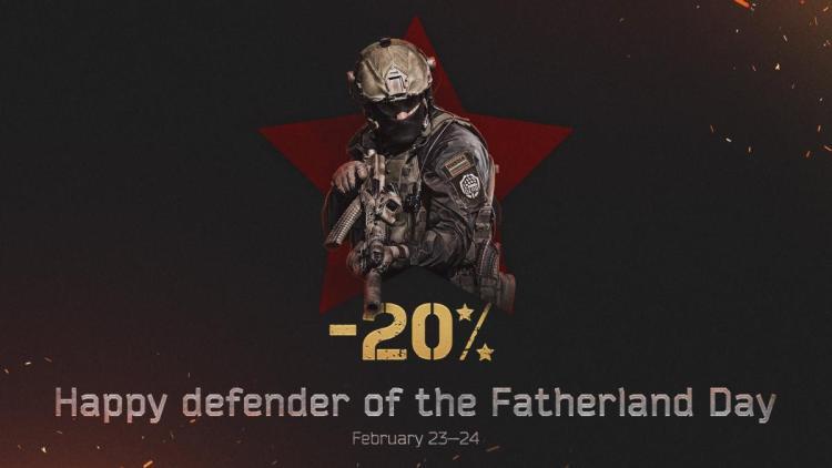 Escape From Tarkov:祖国防衛軍の日を記念して全エディションが20%OFF(2日間限定)