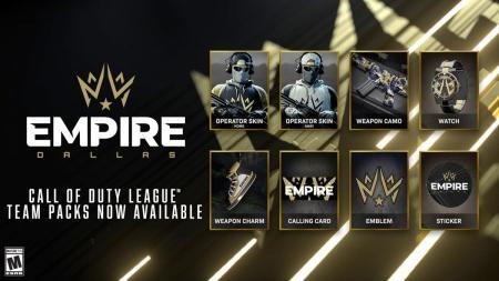 CoD:BOCW:「Call of Duty League」チームパックが販売開始、オペレータースキンや迷彩など8種のアイテムを同梱