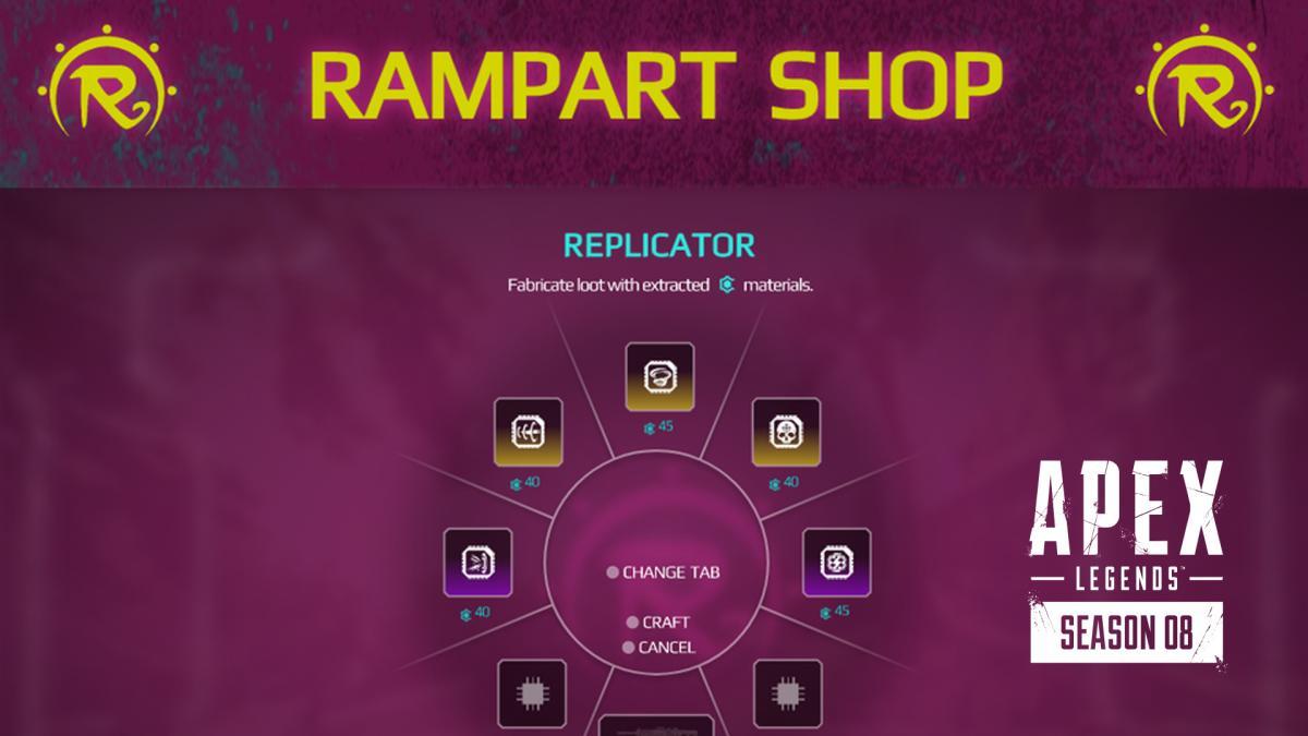 エーペックスレジェンズ:ランパート専用のクラフトメニュー導入? 海外プレイヤーのアイデアが話題に