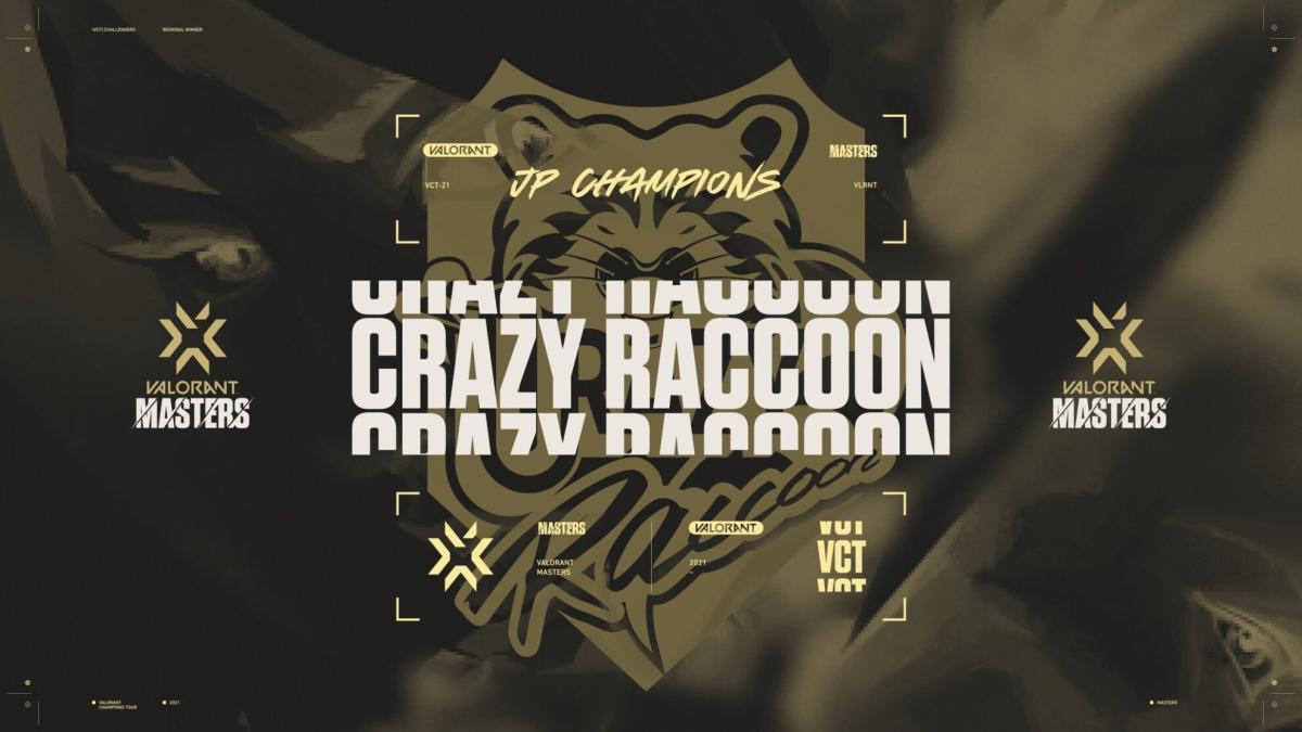 ヴァロラント:公式eスポーツ大会「2021 VALORANT Champions Tour – Masters Japan Stage 1」優勝はCrazy Raccoon、JUPITERにリベンジ成功