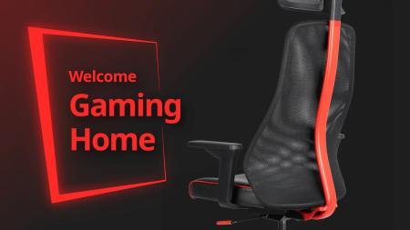 イケア、ASUSのROGとコラボ開発したゲーミング用家具&アクセサリー25製品を4月29日より発売