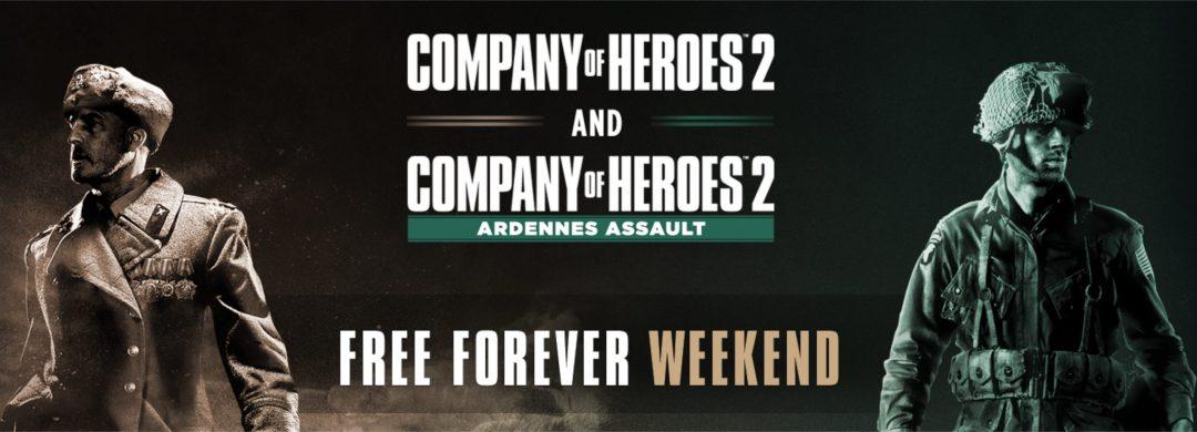 [休憩] 第二次世界大戦が舞台のRTS『Company of Heroes 2』と拡張コンテンツ「Ardennes Assault」がSteamにて無料配布中(6月1日午前2時まで)