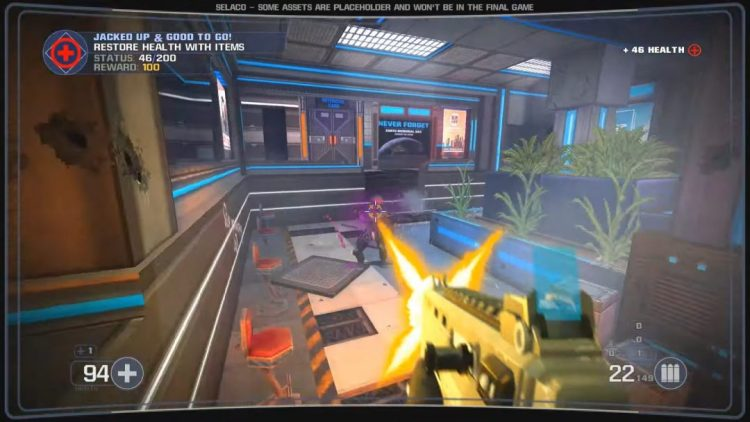 新作FPS『Selaco』8月25日リリース、『Doom』のゲームエンジンに最新カスタムAIを搭載したSF・PvEシューター