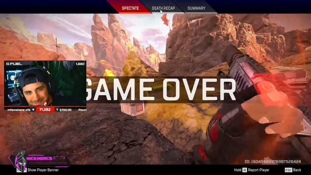 Teaming with HACKERS in Apex Legends! _BAD IDEA_ 18-43 screenshot