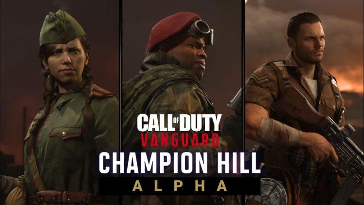 CoD:ヴァンガード:PS5/PS4向けアルファテスト開始、サバイバルトーナメント「チャンピオンヒル」を楽しもう!