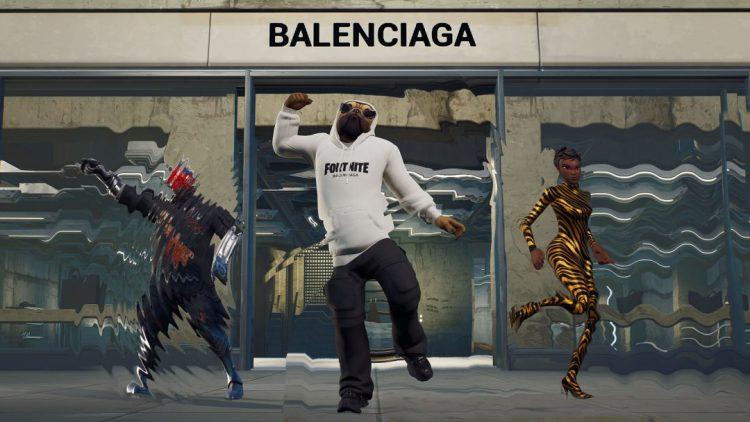 フォートナイト:ファッションブランド「バレンシアガ」とコラボ、現実でもコラボファッション販売