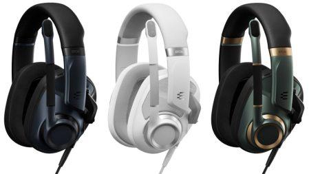 EPOS:次世代ゲーミングオーディオのフラッグシップ有線モデル「H6PRO」シリーズヘッドセットを発表、開放型と密閉型の2タイプで価格は23,800円