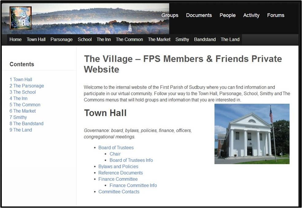 The Village Website