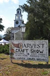 Harvest Craft Fair Sign