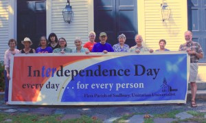 Interdependence banner with people 2015