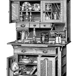 old kitchen clipart