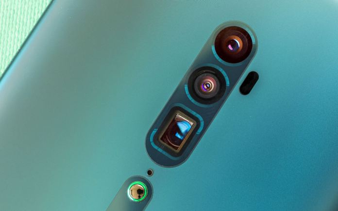 thiết kế OPPO Reno 10x Zoom