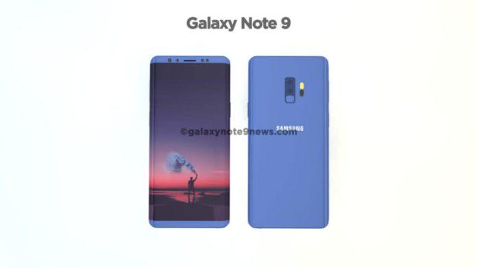 Sau nhiều thông tin đồn đoán, ảnh render của Galaxy Note 9 đã xuất hiện 3