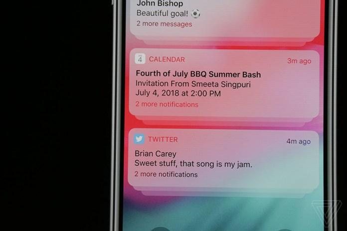 những tính năng mới iOS 12 16