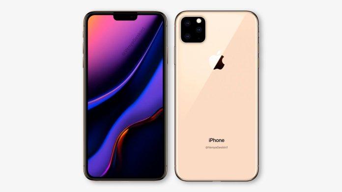 iPhone XI tiếp tục khoe dáng lung linh trong bức ảnh hai mặt trước sau 2