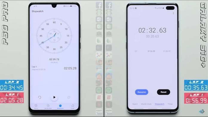 Đọ tốc độ Galaxy S10+ và Huawei P30 Pro (ảnh 2)