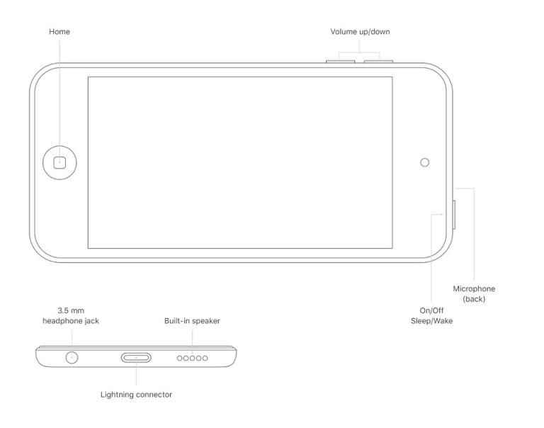 Apple iPod touch gen 6 vs gen 7 06