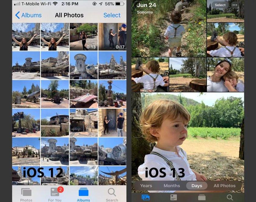 Những cải tiến trên ứng dụng Ảnh của iOS 13
