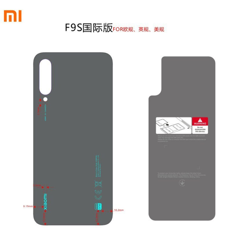 Xiaomi Mi A3 đạt chứng nhận FCC