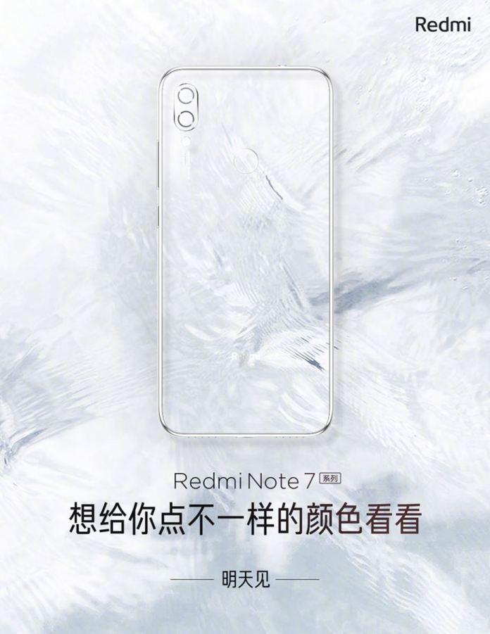 Poster màu mới của Redmi Note 7