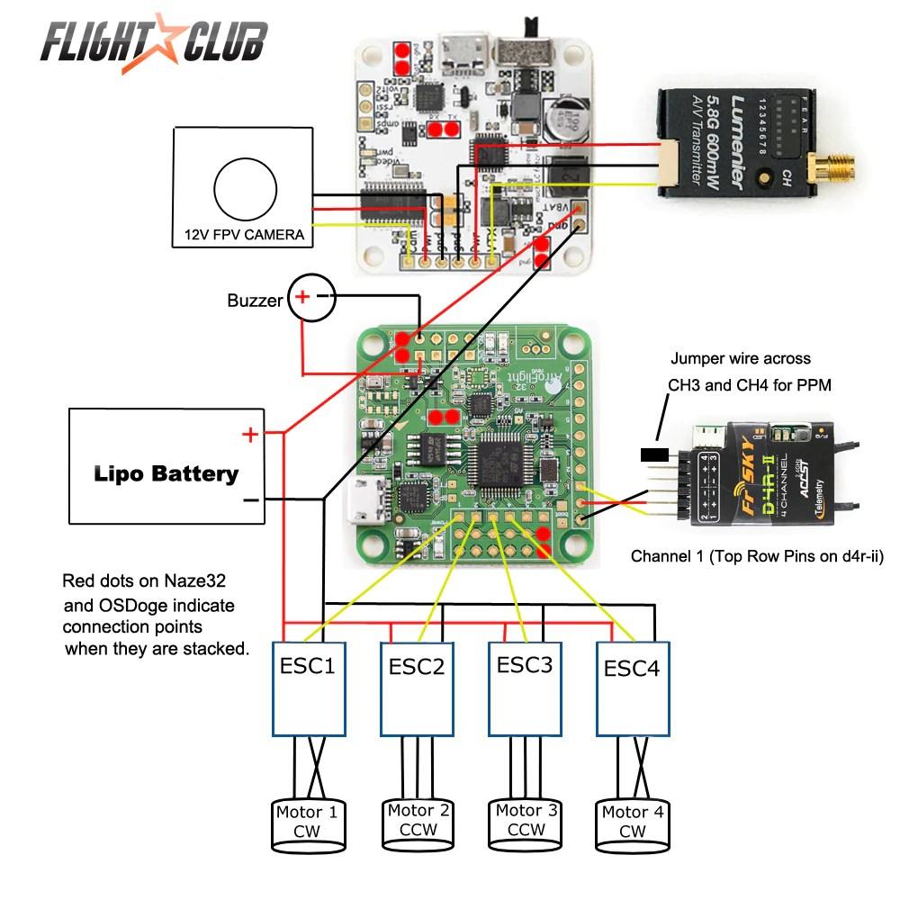 Quadcopter Wiring Configuration