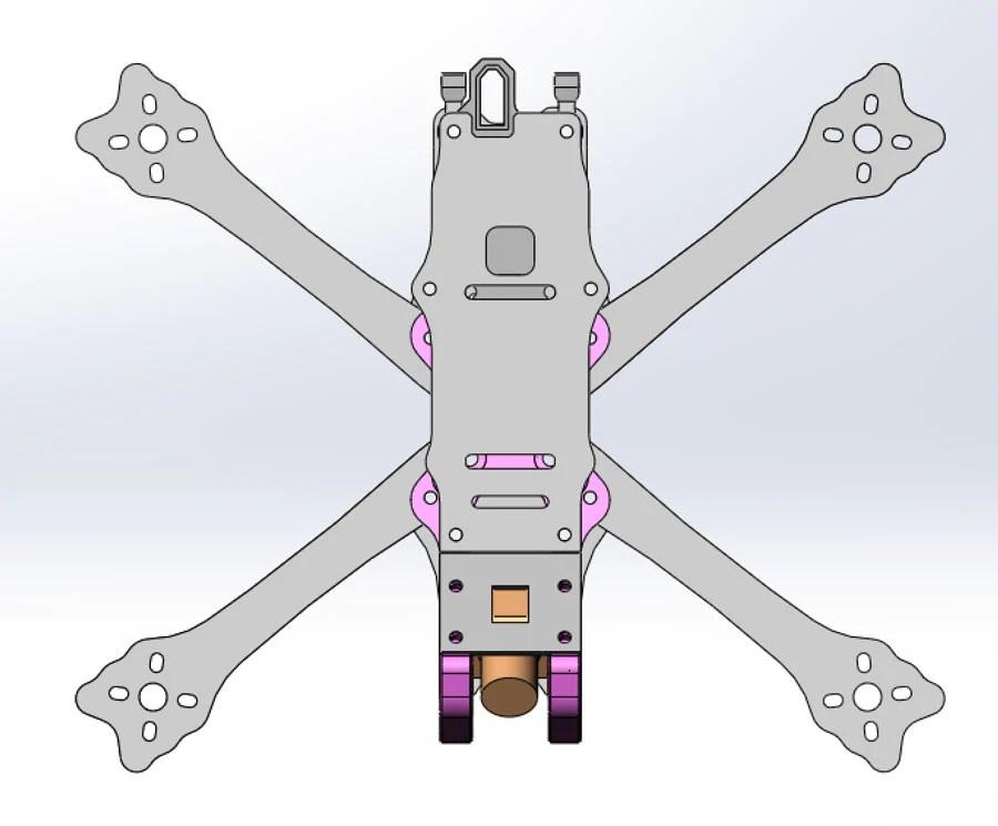 Freestyle Drone Frame FlightClub Bangkok