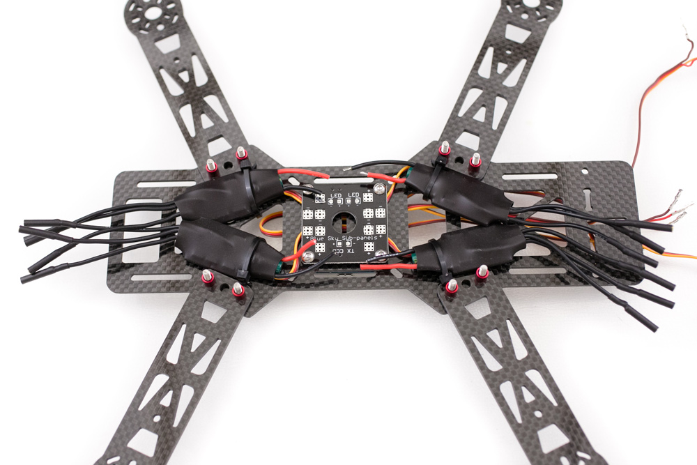 emax 250 quadcopter build