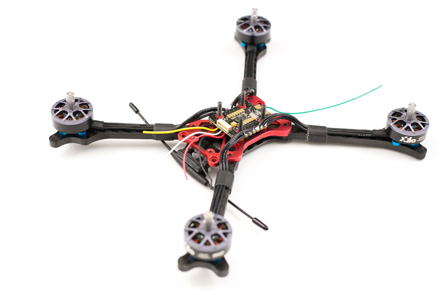 hybrid fpv race frame build