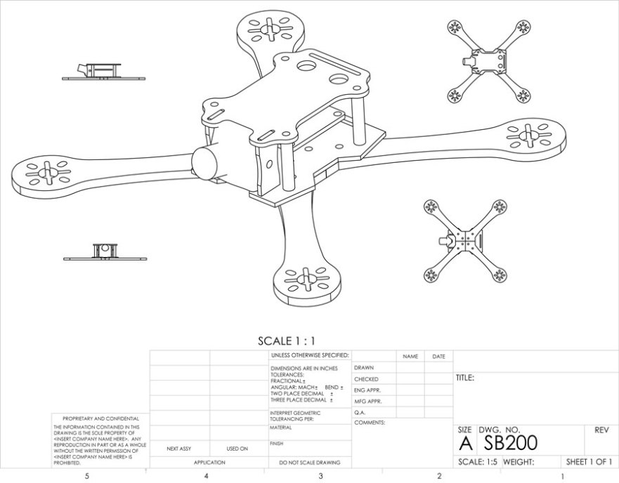 quadcopter frame