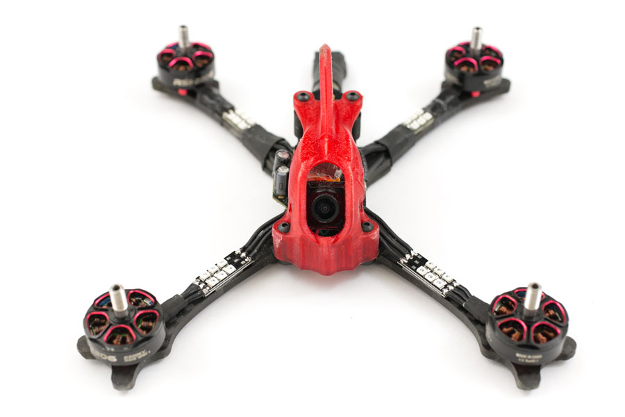 racewire racelite quadcopter led