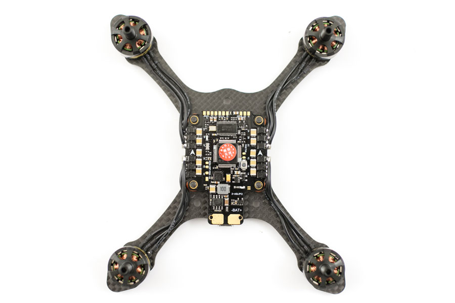 three inch quad build