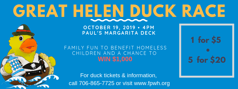 4th Annual Great Helen Duck Race to kickoff Family Promise Week