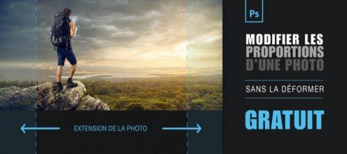 Gratuit Photoshop : modifier les proportions de vos photos sans la déformer