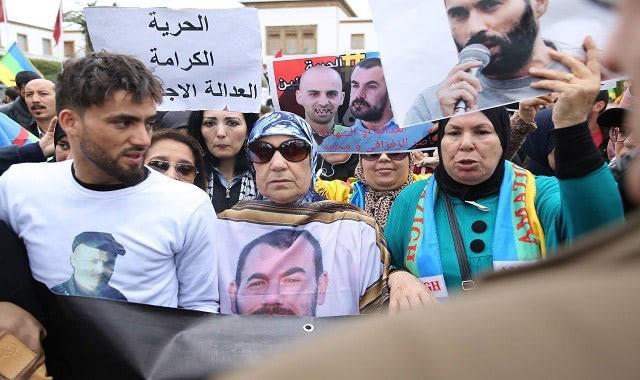 Rabat : marche nationale pour la libération des détenus du Hirak (vidéo)
