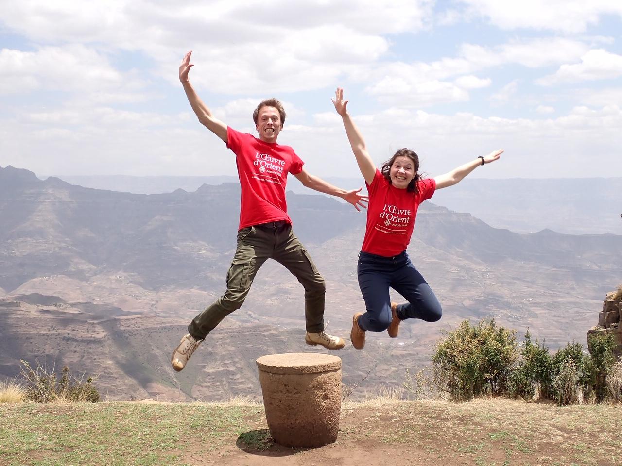 Gauthier et Constance, témoins de la soif spirituelle de l'Éthiopie