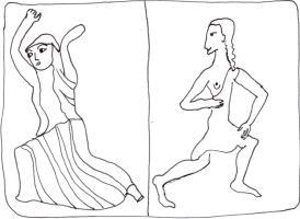 Statuettes bronze jeunes femmes danseuses lutteuses Sparte Grèce antique histoire des femmes histoires de femmes