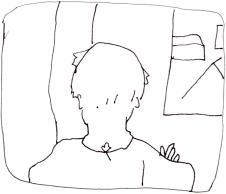 Schjerfbeck_Enfant-regarde-fenêtre