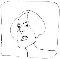 Elia Danielson Gambogi artiste autoportrait