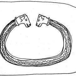 Le Bracelet Tene period dessin