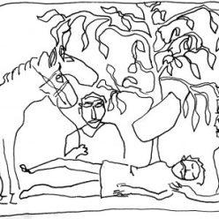 artisanat Scythe resurrection en or