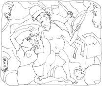 (womenstories)_Roman_battle_men_killing