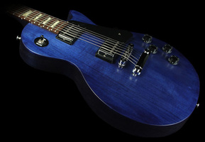 Gibson Les Paul Faded Blue Stain