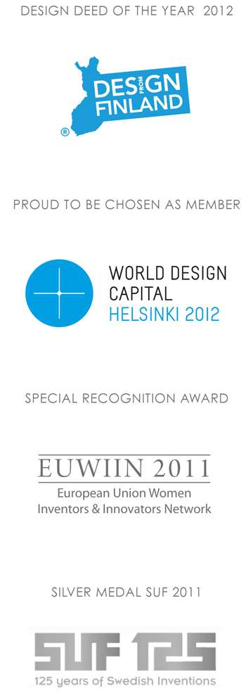 Awarded design from Finland, sustainable, functional, ecological design EUWIIN