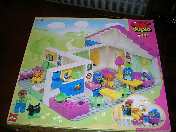 Bricker Pice LEGO 4895 Duplo Furniture Bed 3 X 5 X 1 23