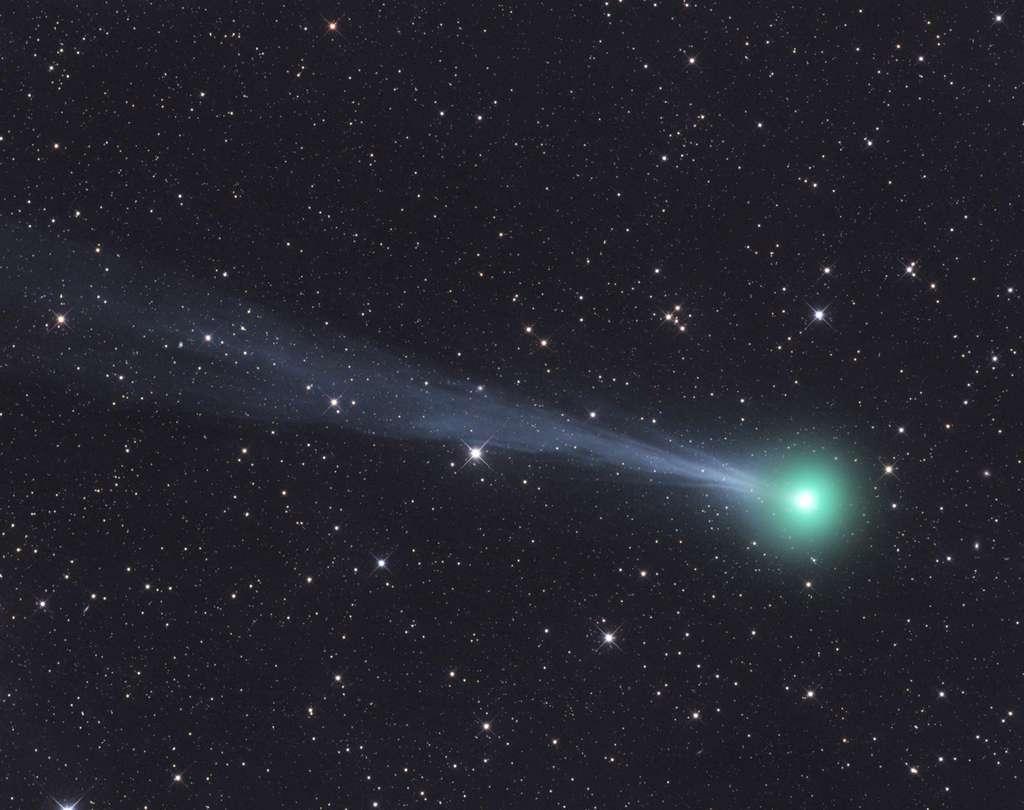 La comète C/2015 ER61 PanSTARRS photographiée le 6 avril 2017. © Gerald Rhemann, Spaceweather