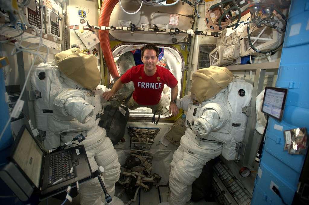 L'astronaute européen Thomas Pesquet. © ESA, Nasa
