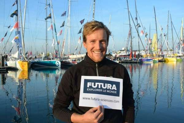 Vendée Globe 2016 : le départ du skipper Conrad Colman