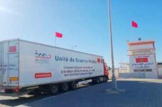 El Guerguarat. Départ vers l'Afrique de l'Ouest d'une caravane médicale marocaine
