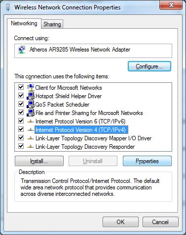 ContournerCensurev2 Domaines DNS DNS Win7 05 fr old Censure du net: Voici comment continuer à visiter les sites interdits
