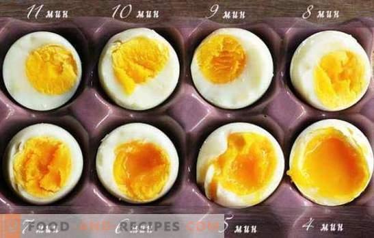 faire cuire des œufs a la coque durs
